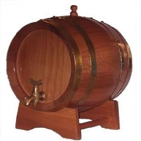 small wine barrel in Malta